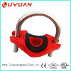 Ductile Iron Pipe Fitting and U-Bolt Tee with FM UL Approvals