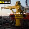 Gbm 1t 31m Vessel Telescopic Boom Marine Crane Ship Deck Crane Hydraulic Marine Crane