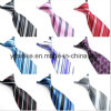 Fashion Polyester Easy Tied Stripe Designs Men Tie (WH20)
