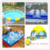 High Quality Inflatable Water Swimming Pool with Tent (CYPL-1490)