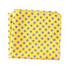 Luxury Silk Polyester Dots Plaid Flower Printed Pocket Square Hanky Handkerchief (SH-029)