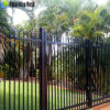 Wholesale Cheap Galvanized Then Powder Coated Steel Fence for Security