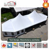 1000 People Mixed High Peak Wedding Party Tent with Cooling System and Curtain