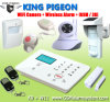 Security Alarm System with GSM WiFi Camera, APP and Gate Opener Function
