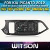Witson Car DVD for KIA Picanto 2012 (W2-D8526K) Car DVD GPS 1080P DSP Capactive Screen WiFi 3G Front DVR Camera