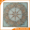 Decorative Inkjet Beige Round Pattern Glazed Rustic Ceramic Floor Tile