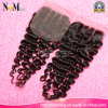 No Tangle No Shedding No Lices Swiss Brazilian Deep Wave Lace Closure Virgin Hair