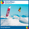 Outdoor Sublimation Printed Flying Flag, Feather Flag (Style B)