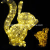 LED Outdoor Lighting Motif Squirrel Lights