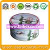Round Gift Metal Tin Box