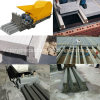 Trade Assurance Concrete T Beam Machine for Roof Building