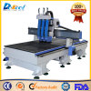 Three Process CNC Router Wood Cutting Machine for Sale