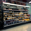 Dairy Foods Air Cooling Cabinet Supermarket Display Refrigerator