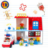Plastic First Aid Center Blocks Toy for Kids