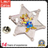 Enamel Fashion Star Shape Metal Lapel Pin