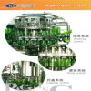 6000bph Glass Bottle Pasteurized Beer Brewery Equipment