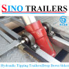 Drop Down Side Tandem Axle Hydraulic Tipping Trailer