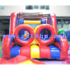 Inflatable Amusement Combination Obstacle Slides and Bouncer Bouncy House for Play Game Center