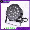 18PCS RGB 3W Flat Small DJ Stage Lights PAR 64