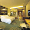2013 Modern Glass Headboard & Modern Design Hotel Bedroom Furniture (EMT-A1203)