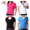 100% Cotton Original Designer Brand Men's Polo Shirts (ZJ-6903)