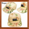 Floral 5 Panel Hats with Patch