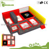Safe Commercial Indoor Trampoline Park with Foam Pit
