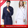 New Design Plain Flannel Fleece Men Bathrobe