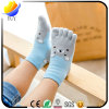 Children Cartoon Design Five Toe Socks