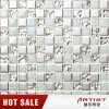 Snow Feel Crystal Glass Ice Crack and Metal Plating Mosaic