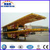 3 Axle Container Chassis or Container Platform Truck Semi Trailer