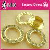 Round Metal Brass Rhinestone Eyelet Crystal Diamond Grommets Glass Eyelets