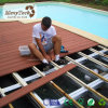 Balcony Outdoor Swimming Pool WPC Wood Plastic Composite Decking