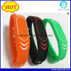 Custom Logo Printed 24cm 1K RFID Silicone Wristband Used in Entrance Tickets
