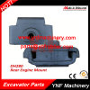 Excavator Parts Daewoo Doosan Dh280 Rear Rubber Engine Mount