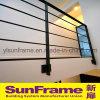 Aluminium Balustrade Made in Black Colour for Apartment Use