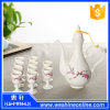 Chinese Style White Ceramic Wine Cup Set Drink Set