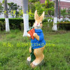 Home Decoration Resin Lovely Rabbit for Easter