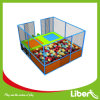 Liben Play Small Square Trampoline with Safety Enclosure for Kids
