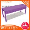 European Style Commercial Long Chair Metal Mesh Bench for Garden