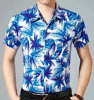 100% Polyester Hawaiian Men Shirt