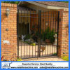 High Quality Black Powder Coated Steel Fence for Garden Wall