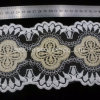 Clothing Accessories Net Yarn Embroidery Lace Fabric Textile Water-Soluble Trim