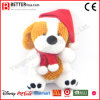 Xmas Ornament Stuffed Dog Plush Soft Toy for Gift