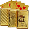 Gold Foil Poker with Gift Case