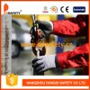 Ddsafety 2017 Grey Nylon Coated Nitrile Mini Dots Safety Gloves