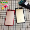 Electroplating Shockproof PC Clear Phone Case for iPhone