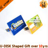 Personalized Logo Credit Card USB Stick as Bank Gifts (YT-3101)