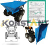 Multi-Function Trolley Easy to Operate Mini Dumper