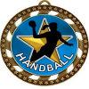 Customized Blank Gold Award Handball Medal Box Army Coin Medallion